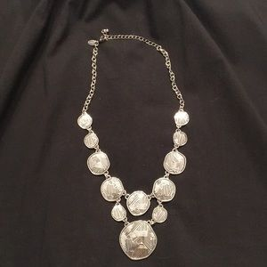 "Lia Sophia silver 18"" necklace"